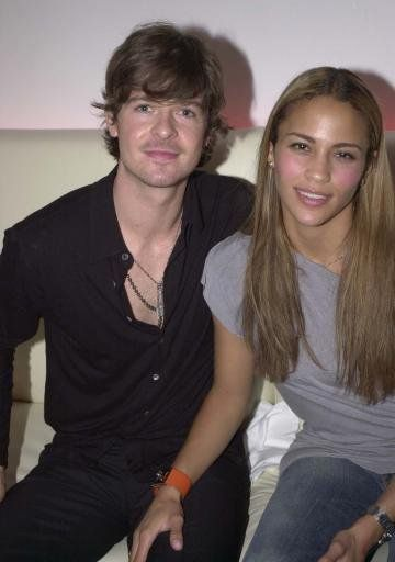 Young Robin Thicke With Wife Paula Patton Robin Thicke Paula Patton Patton