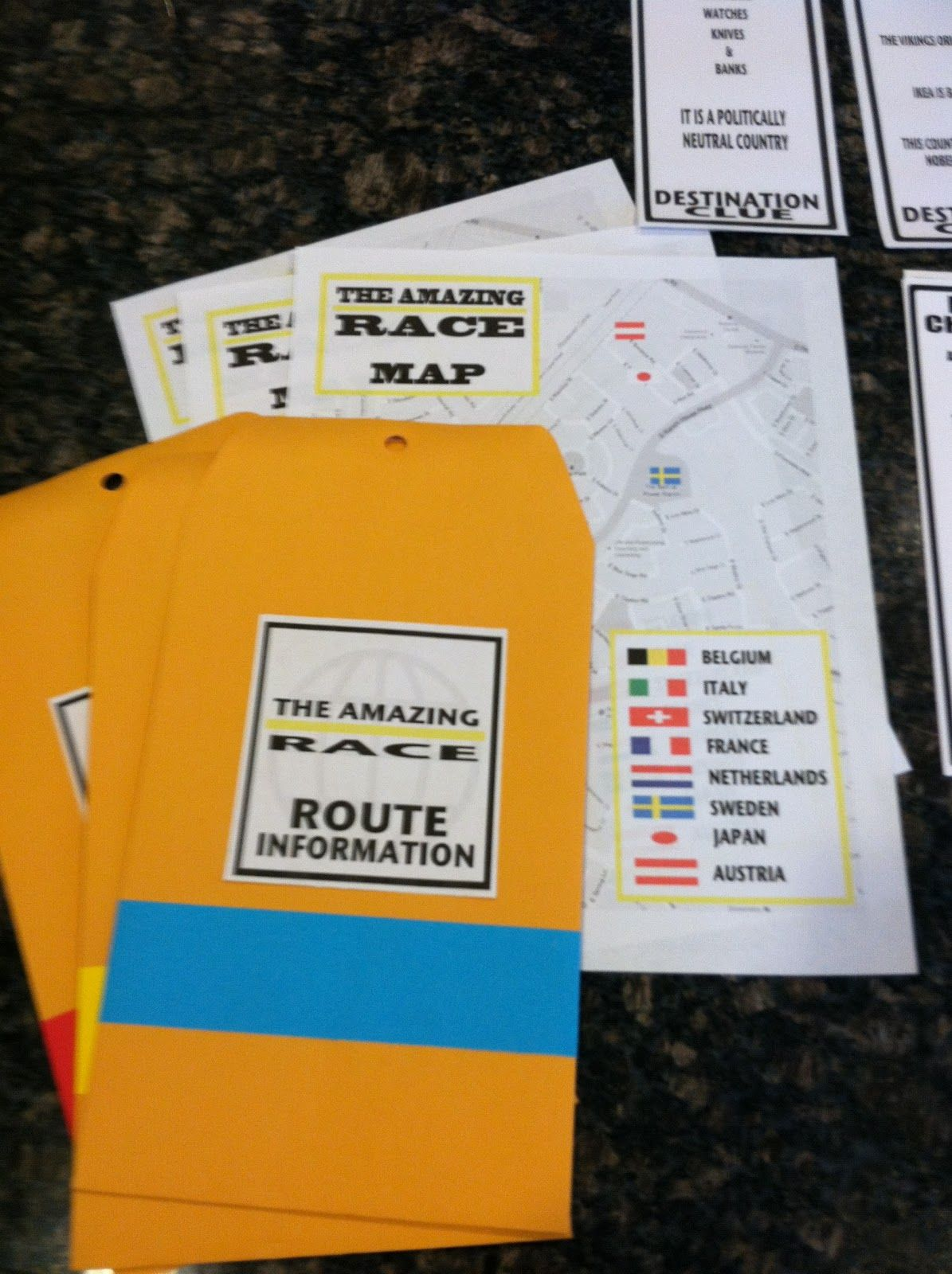 Amazing race ideas - Seeshellspace It Was An Amazing Race Teen Birthday Party