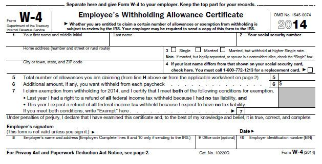 28 Fillable W 4 form in 2020 Employee tax forms, Tax
