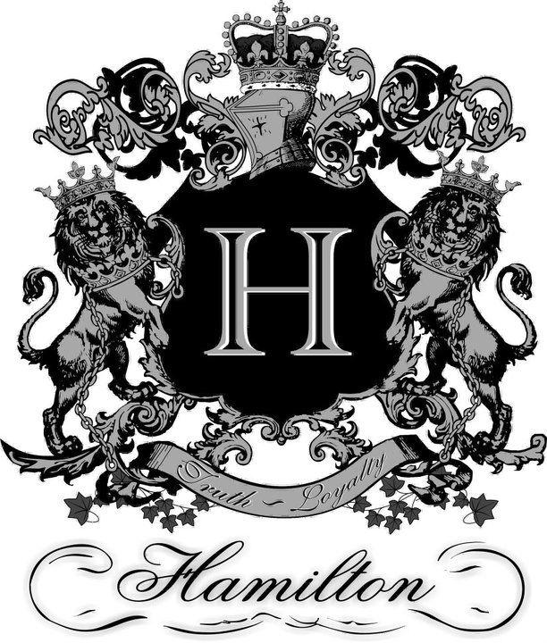 Hamilton Scottish Clan Crest Regular Buckle