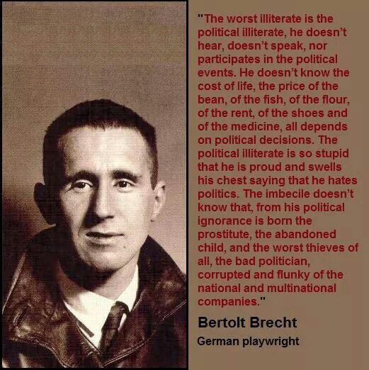 Bertolt Brecht Books Literature Think