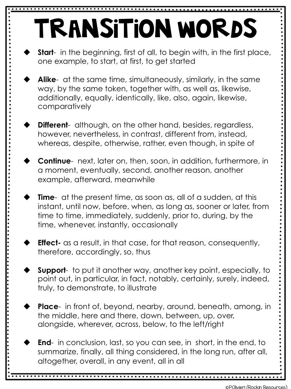 Transition Words Worksheets 4th Grade Writing Mini Lesson 6 Relevant Details In 2020 Transition Words Transition Words Worksheet Writing Mini Lessons