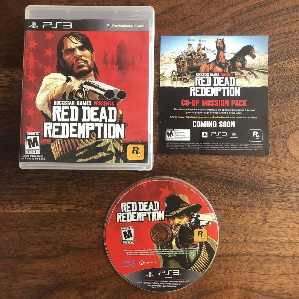 Red Dead Redemption - (PS3, Sony PlayStation 3, 2010
