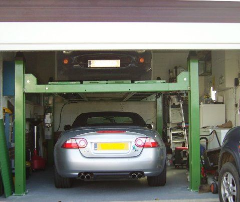 Strongman Tools Provide Car Lifts To Fit In The Typical