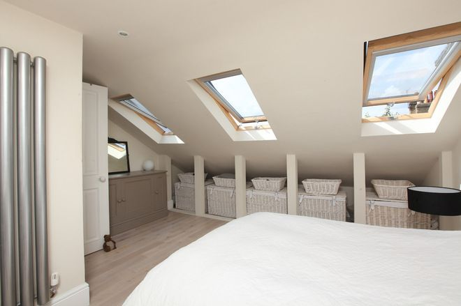 Budget Option For Knee Wall Storage Loft Conversion