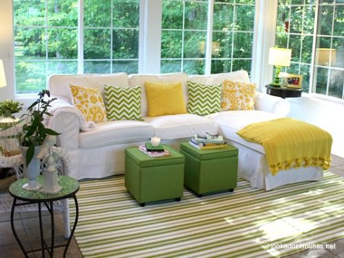 7 Ways To Make A White Sofa Look Fantastic Sunroom Furniture Sunroom Decorating Indoor Sunroom Furniture