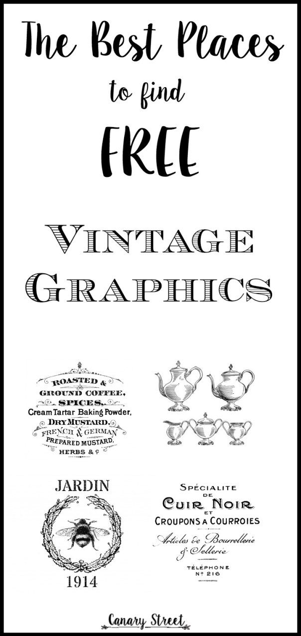 The Best Places To Find Free Vintage Graphics