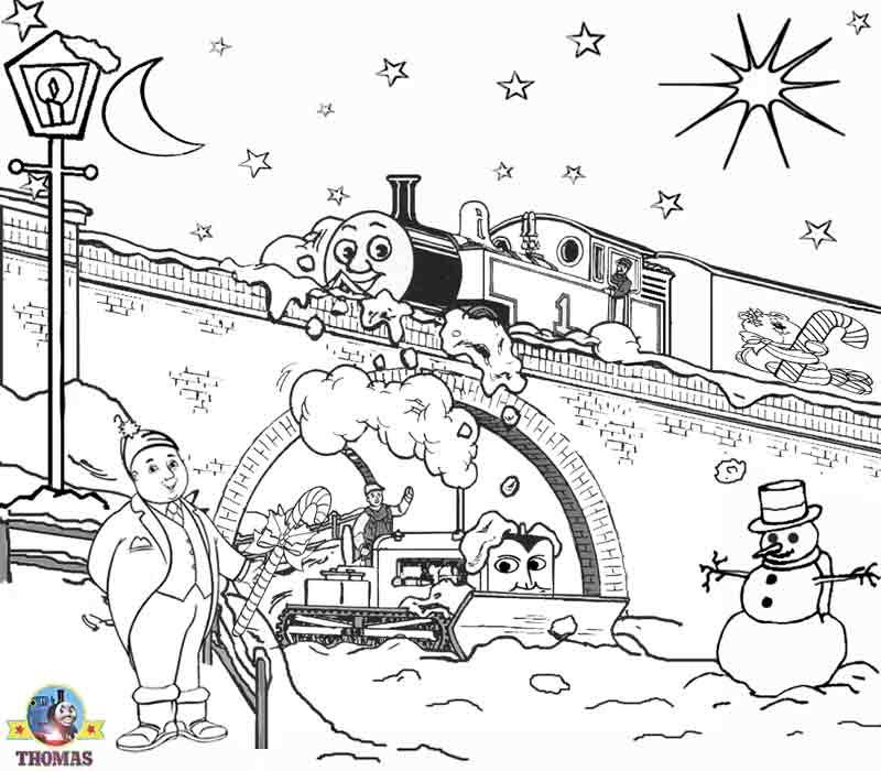 Printable Christmas Coloring Pages For Kids Snowmen Thomas Train And Drawing Train Coloring Pages Printable Christmas Coloring Pages Christmas Coloring Pages