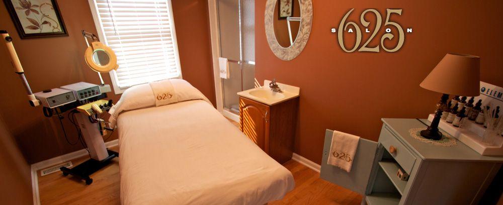 Www Salon625 Com Day Spa Massage Therapy Room