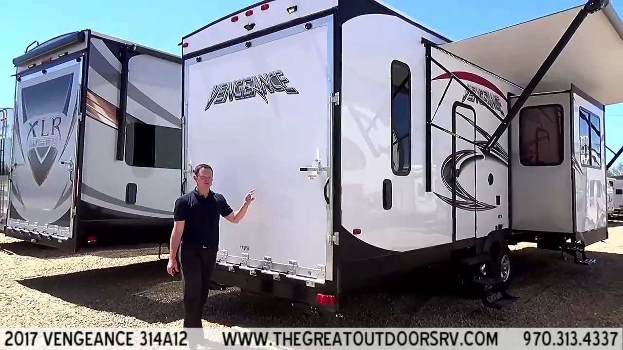 2017 Vengeance 314a12 V110 Recreational Vehicles Fifth Wheel