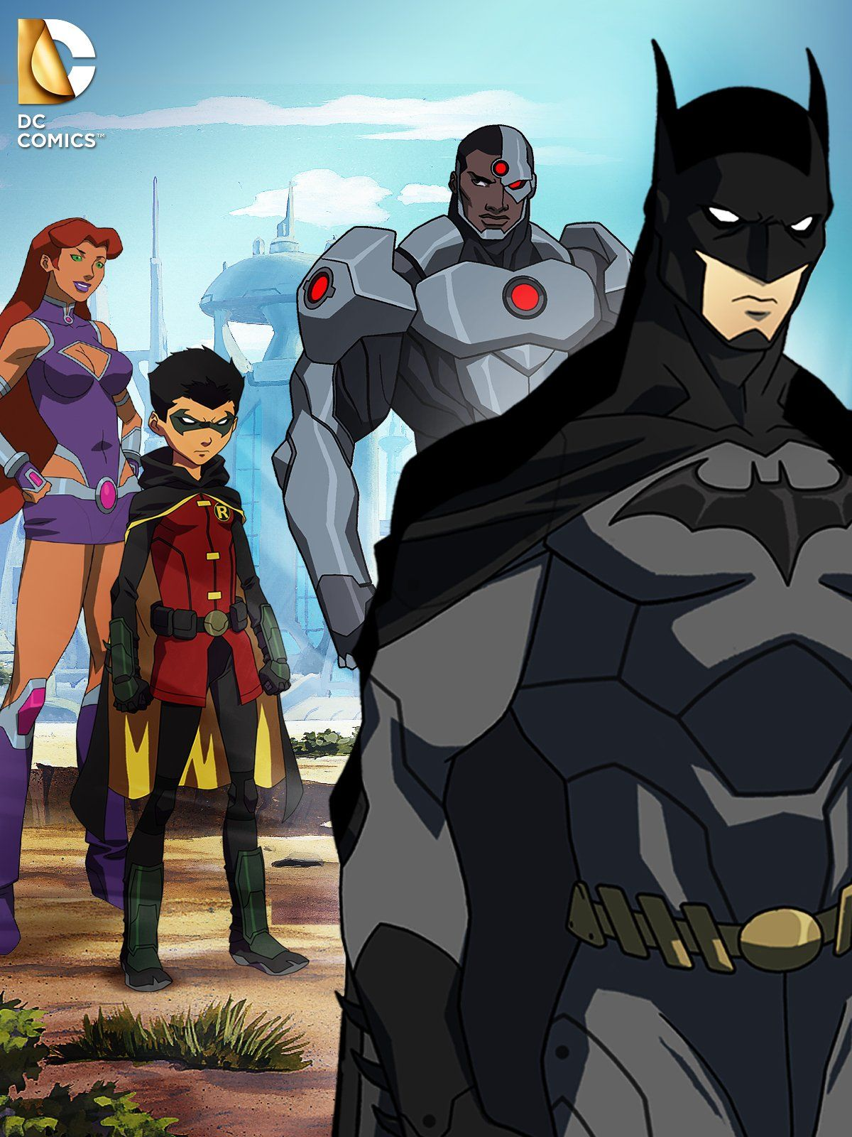 Justice League Vs Teen Titans Blu-Ray  Dvd  Digital Hd -4718