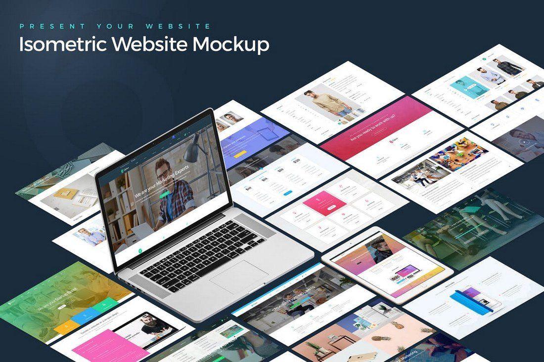50 Best Website Psd Mockups Tools 2021 Website Mockup Website Mockup Psd Web Mockup