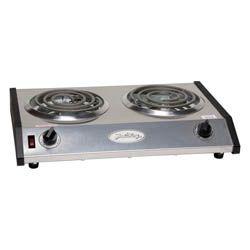 Broil King 1650 Watt Portable 2 Burner Electric Hot Plate 17 1 2 W Electric Hot Plate Hot Plate Cook Up A Storm