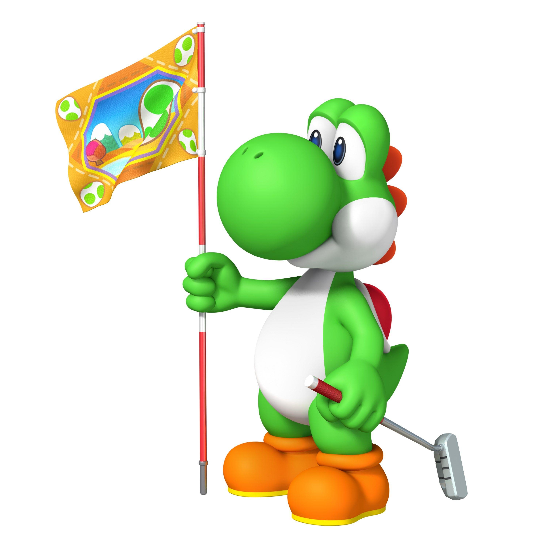 Yoshi Mario Golf World Tour Video Games Nintendo Videojuegos