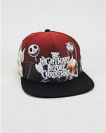 c13e75e7a80 Nightmare Before Christmas Character Snapback Hat