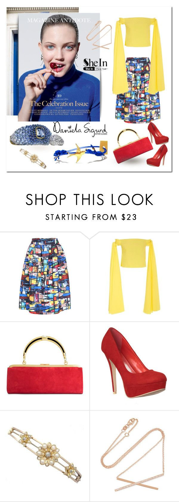 """""""shein.com"""" by ilona-828 ❤ liked on Polyvore featuring mode, Rosie Assoulin, Carbon & Hyde, StreetStyle, polyvoreeditorial et shein"""