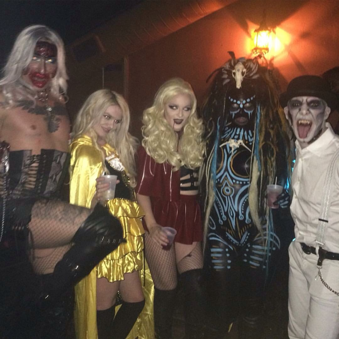 Charmless Charlie and Friends at The Rue Morgue Magazine Halloween ...