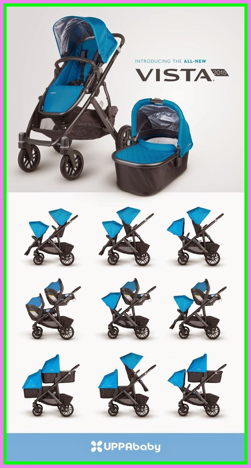 32+ Vista double stroller configurations ideas