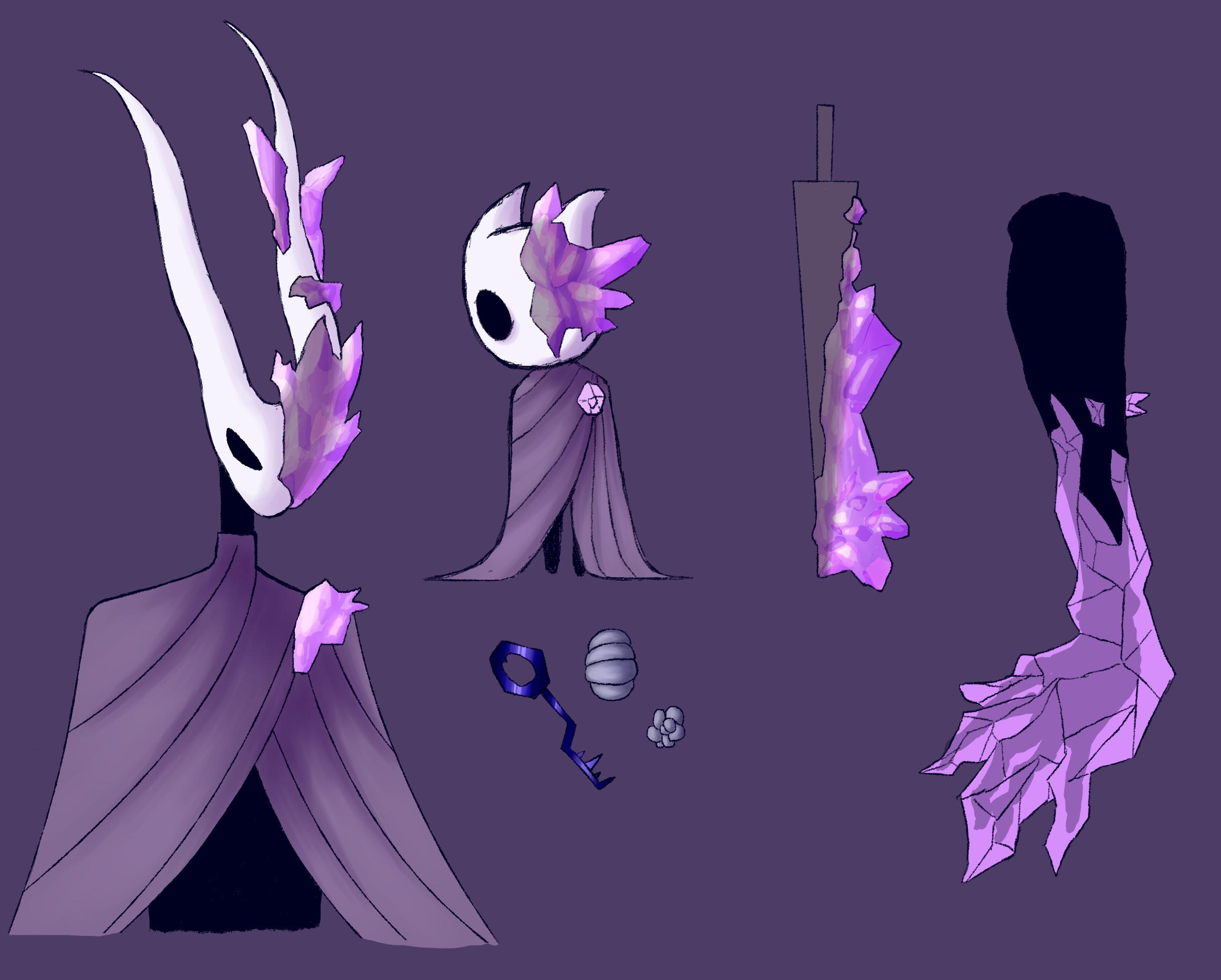 Hollow Knight Vessel Oc By Gadridel On Deviantart In 2020 Knight Character Design Hollow Art