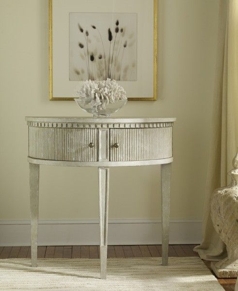 Half Round Console Table modern history antique grey gustavian half-round console table