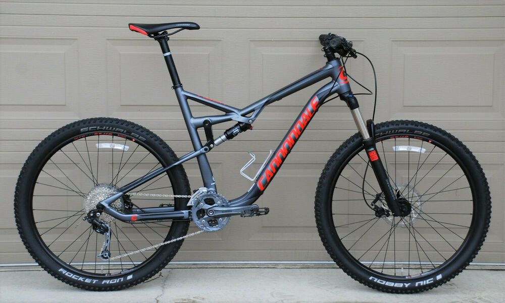 Cannondale Habit Al 6 Full Suspension Mountain Bike Xl Rock Shox