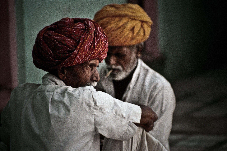 Rajasthan, India. Door communitylid wimcarens - NG FotoCommunity ©