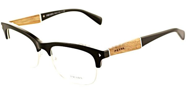 2c928f04b1c prada eyeglasses - retro with wooden arm...love
