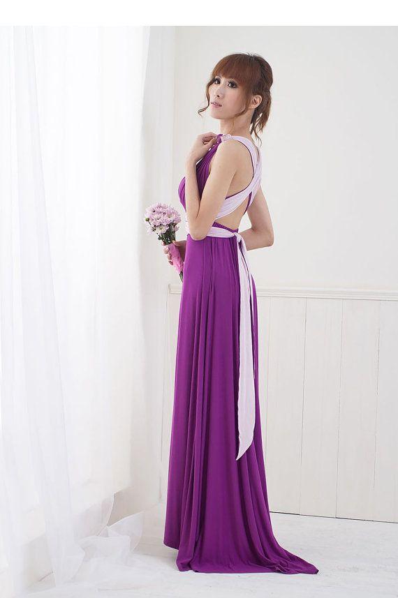 2 tone v | Infinit dress | Pinterest