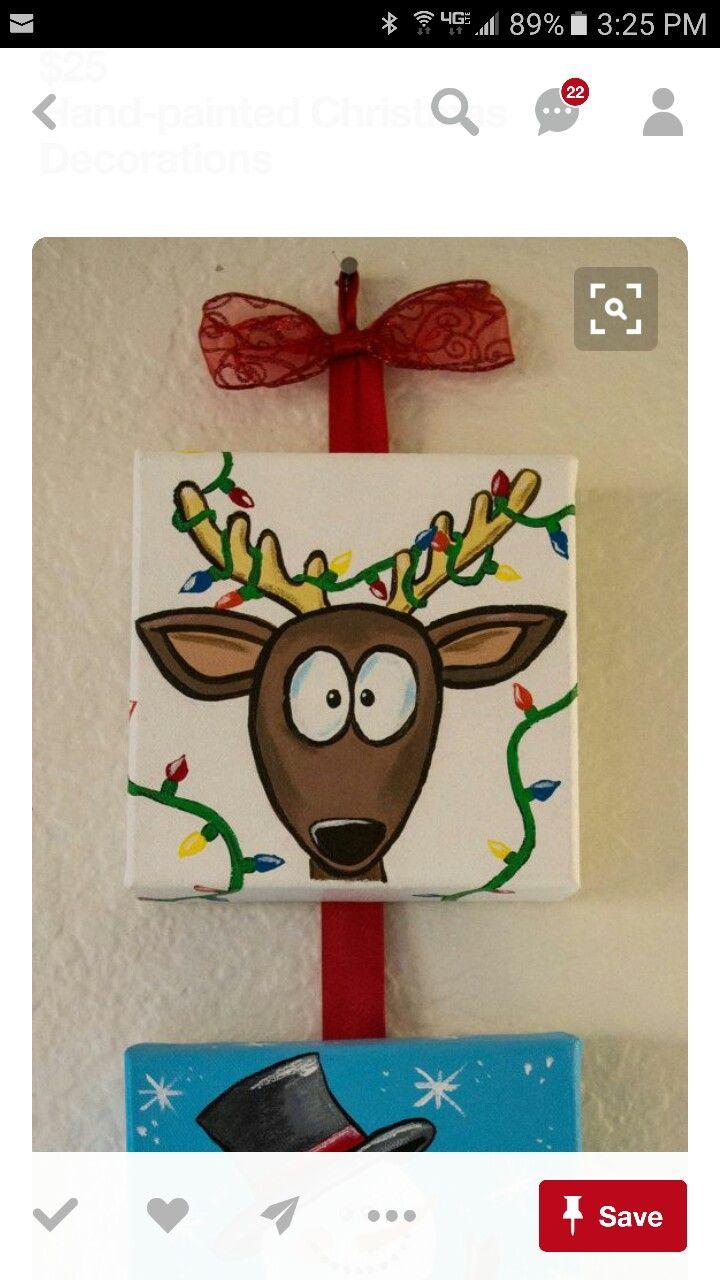 Painting ideas christmas diy pinterest christmas rock