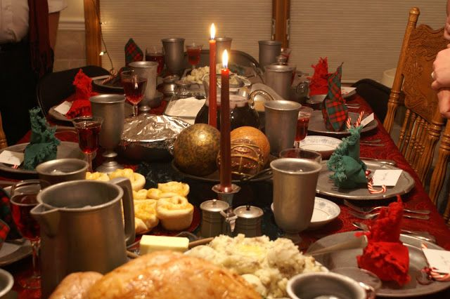 Christmas Dinner Party.Host A Charles Dickens Christmas Party Literary Winter