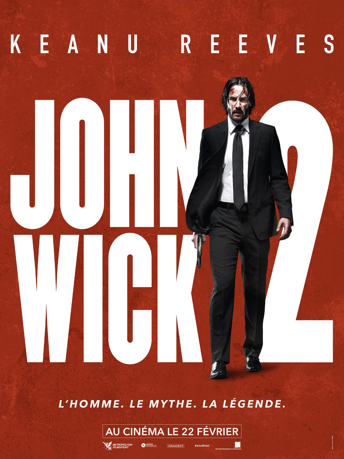 John Wick 1 Film Complet En Francais Streaming : complet, francais, streaming, Keanu, Reeves, Movie, Posters, Watch, Wick,, Streaming, Movies