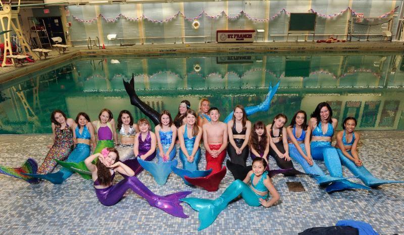 5 days of real mermaid swim school in brooklyn mermaid