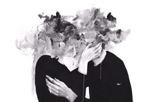 Aesthetic Art Black And White Couple Draw Grunge Hipster