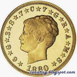 1880 Coiled Hair Gold 4 Denomination Stella 2 574 000 Rare Coins American Coins Coins