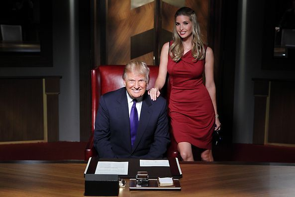 Image result for Ivanka on The Apprentice's Set