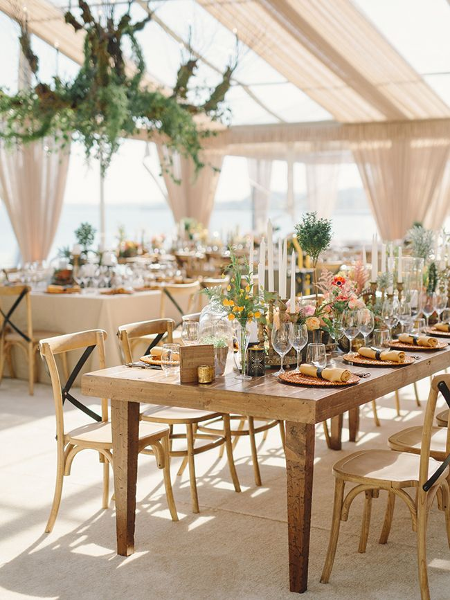 Tented Reception Space Wedding Photography By Jeremy