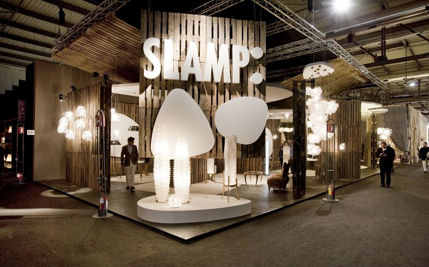 Slamp Stand, Euroluce 2011 U2014 Projects U2014 Nigel Coates