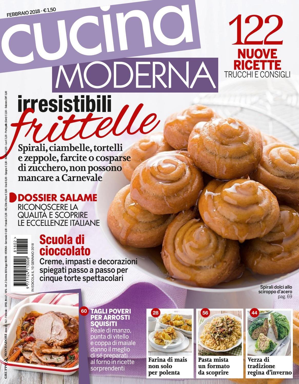 Cucina Moderna Febbraio.Cucina Moderna Febbraio 2018 Riviste Di Cucina Italia E