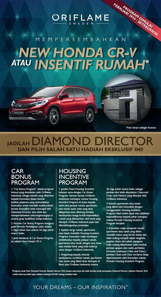 Honda Crv Incentives >> Oriflame Mempersembahkan New Honda Cr V Atau Insentif Rumah