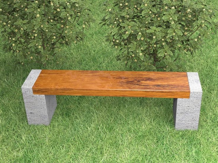 13 Awesome Outdoor Bench Projects Cement garden, Garden