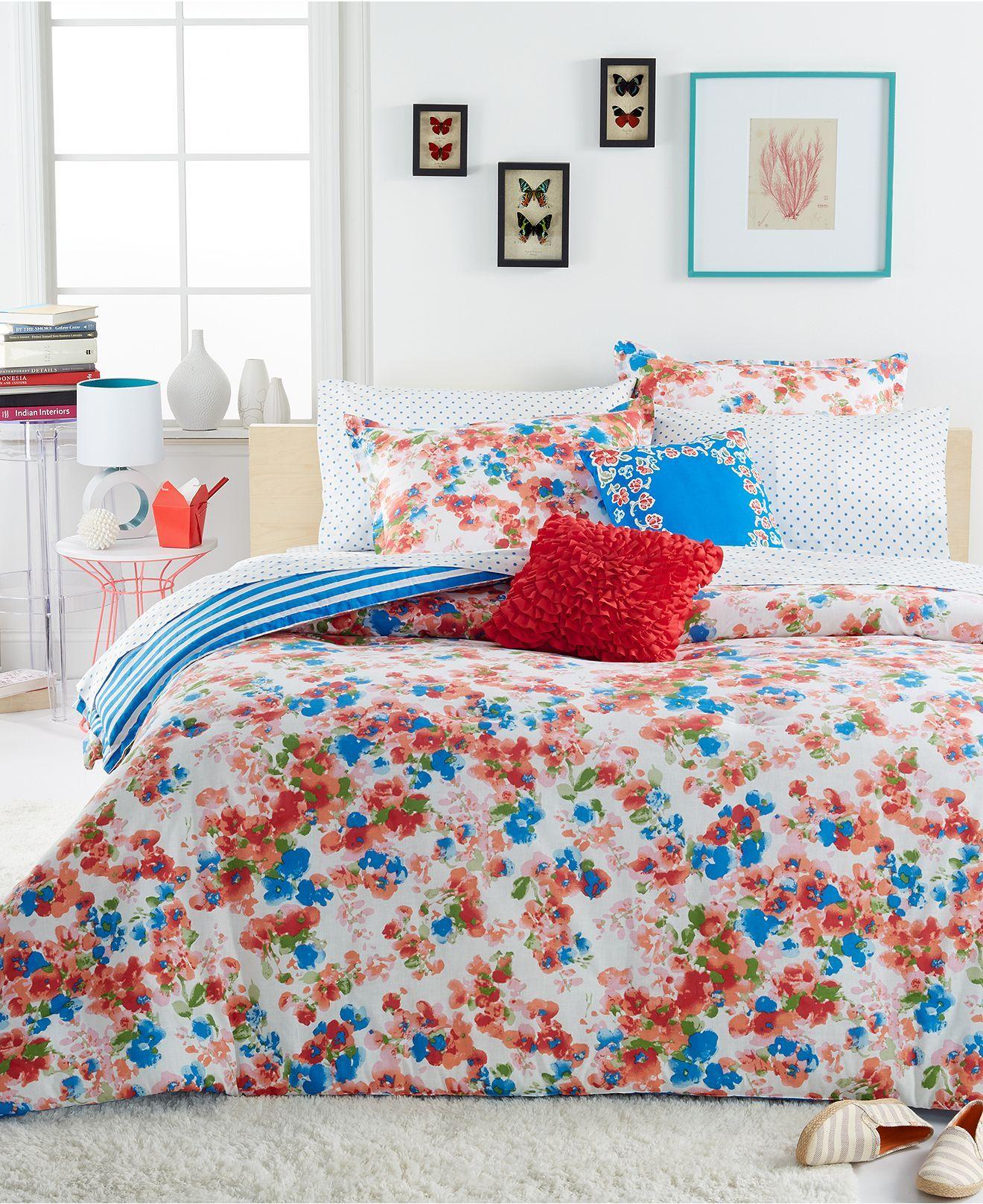 Macy Home Decor: Teen Vogue Rosie Posie Comforter Sets