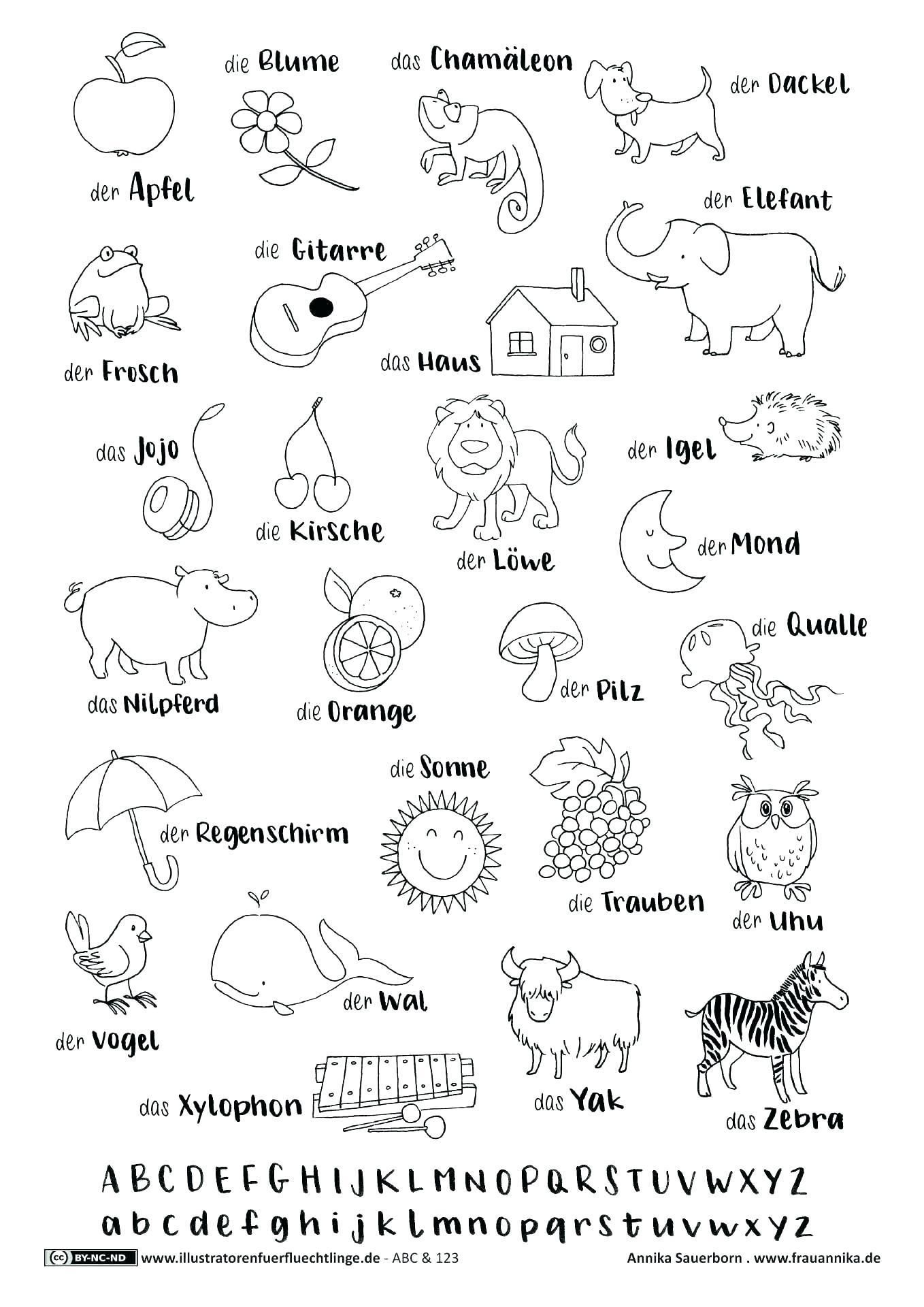 Free Abc Worksheets For Kindergarten