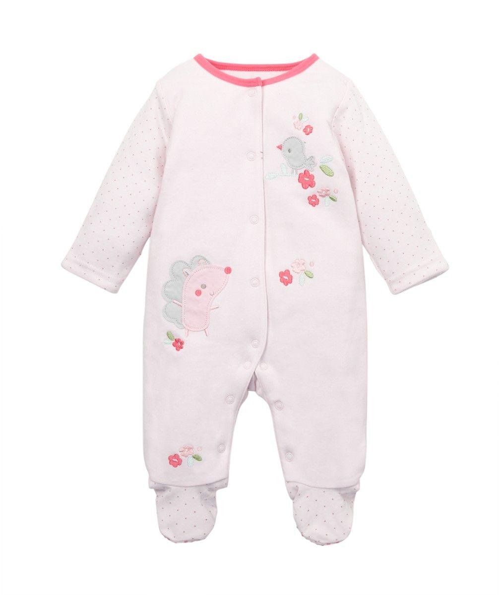 34dc0605c Mothercare Pijama Acolchado Erizo Rosa - Mothercare.