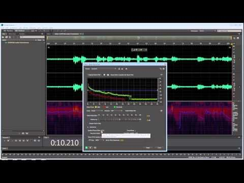 Hum or Background Noise Reduction - Adobe Premiere Pro and Audition