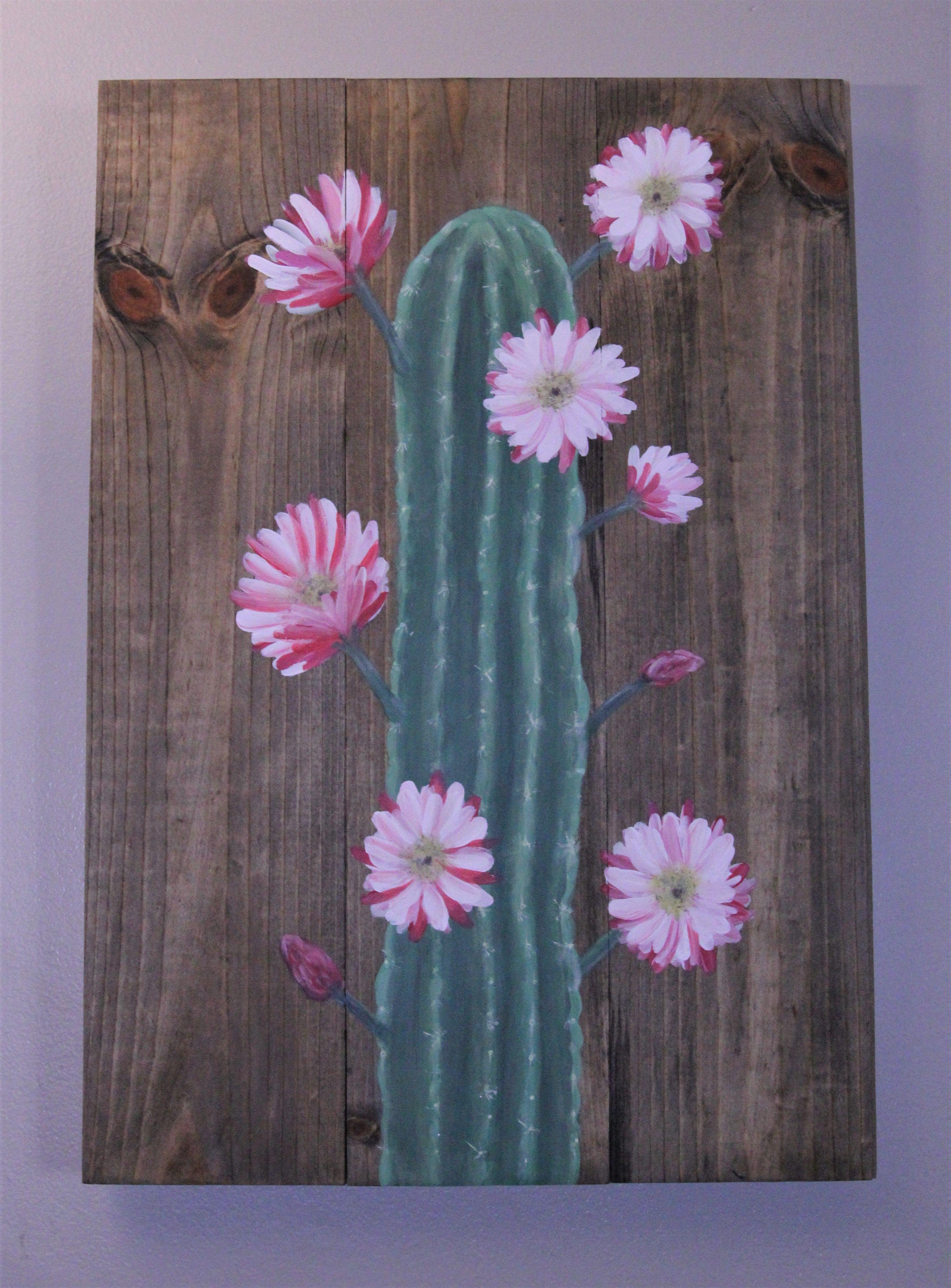 Handmade Wood Canvas Paintings by GvanaDesigns on Etsy