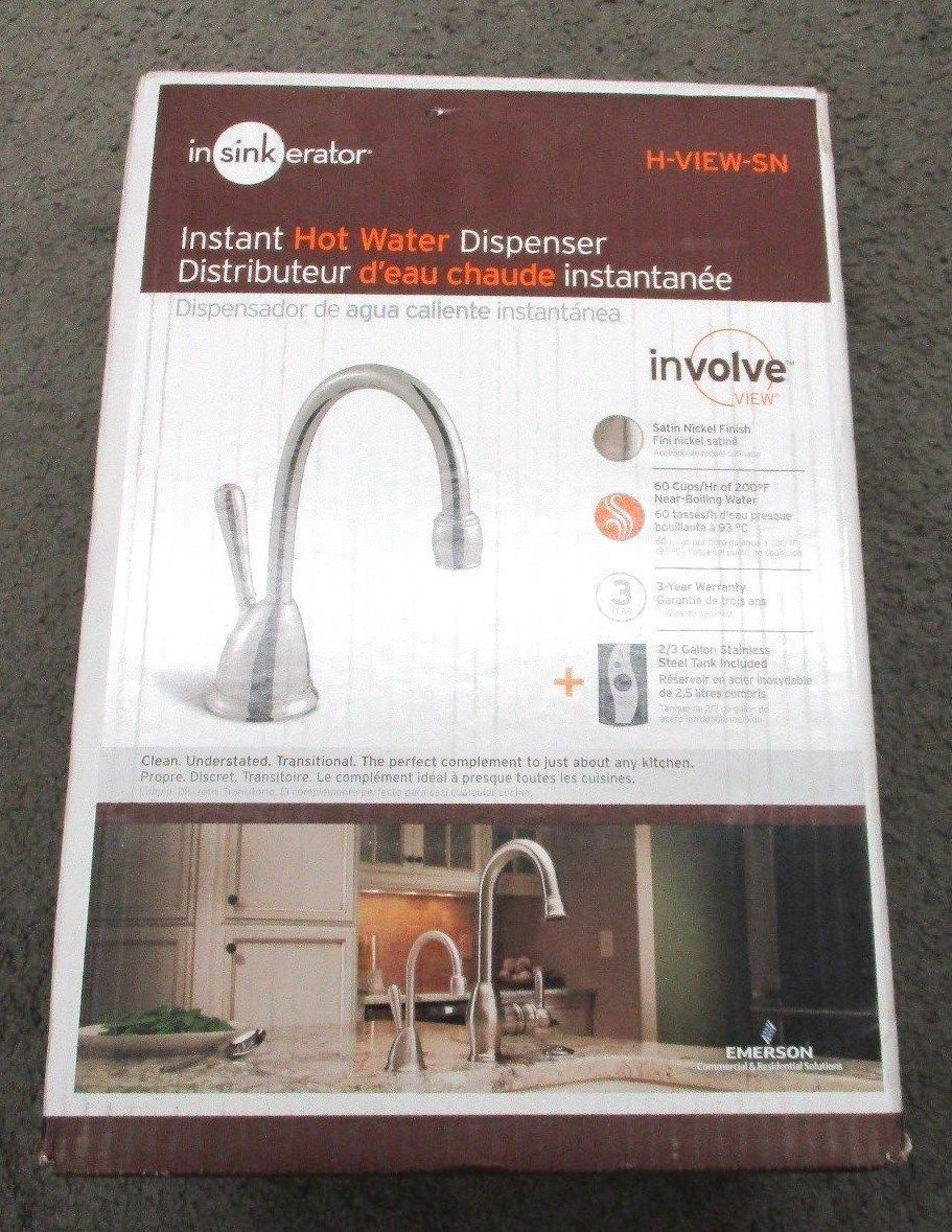 Hot Cold Water Dispensers 121848: Nsinkerator H Viewsn Ss Involve View Hot  Water