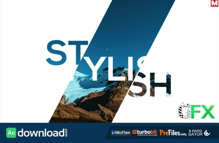 Fast Dynamic Slideshow Free Download After Effects Templates LIB - Adobe after effects slideshow templates