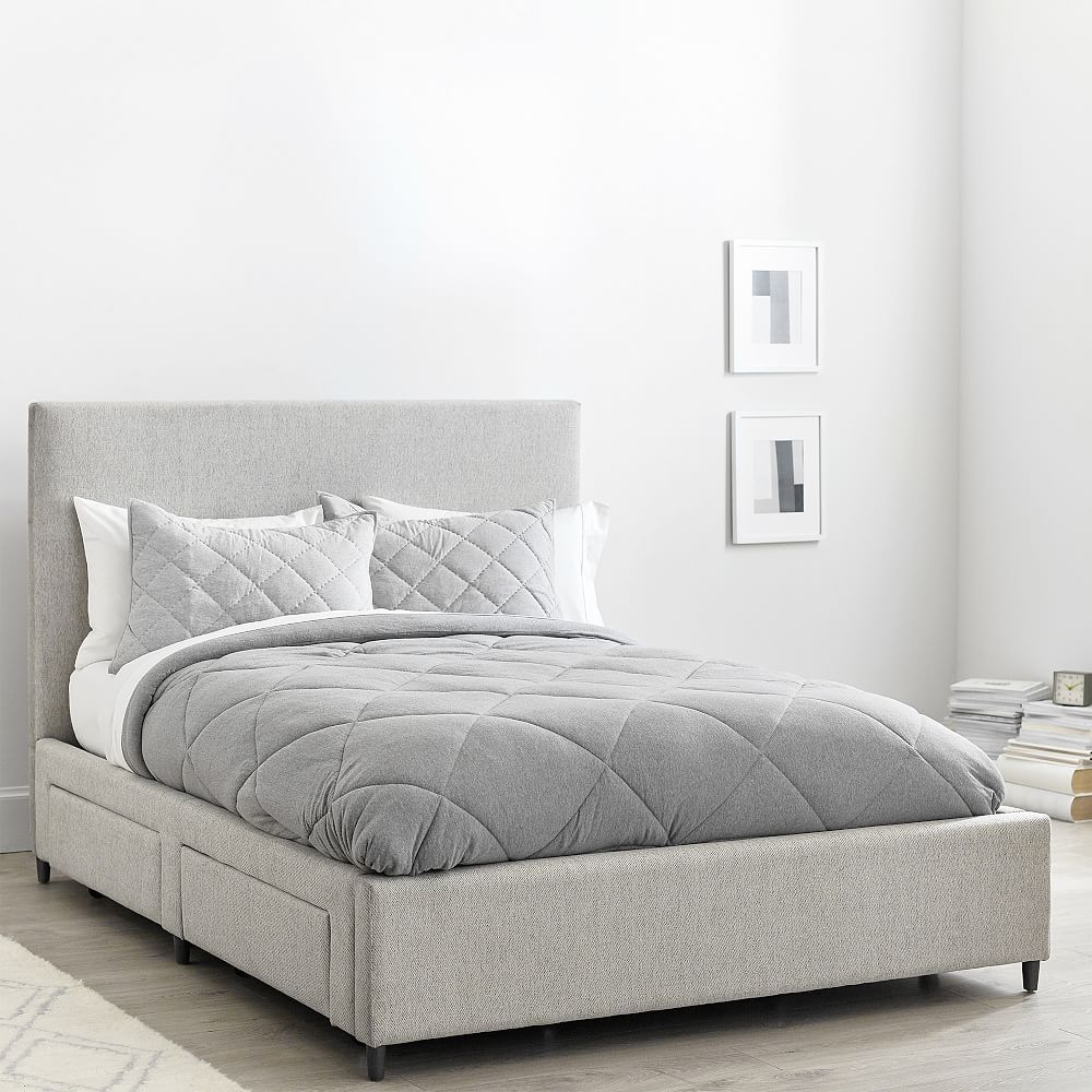 Beale Storage Bed In 2020 Storage Bed Bed Frame With Storage Upholstered Beds