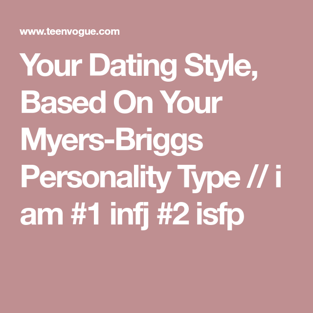 Dating ISFP
