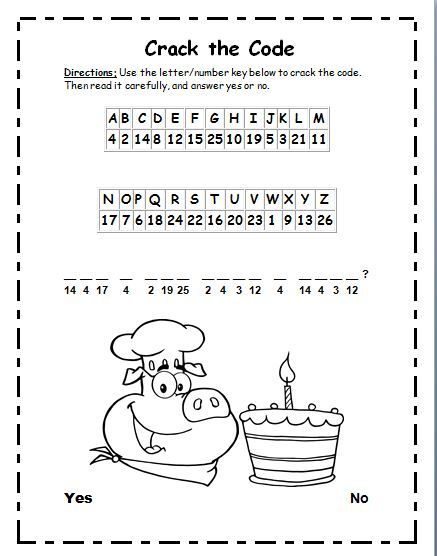 This Is Bite Size Phonics Cryptogram Puzzle In Activity Students Will